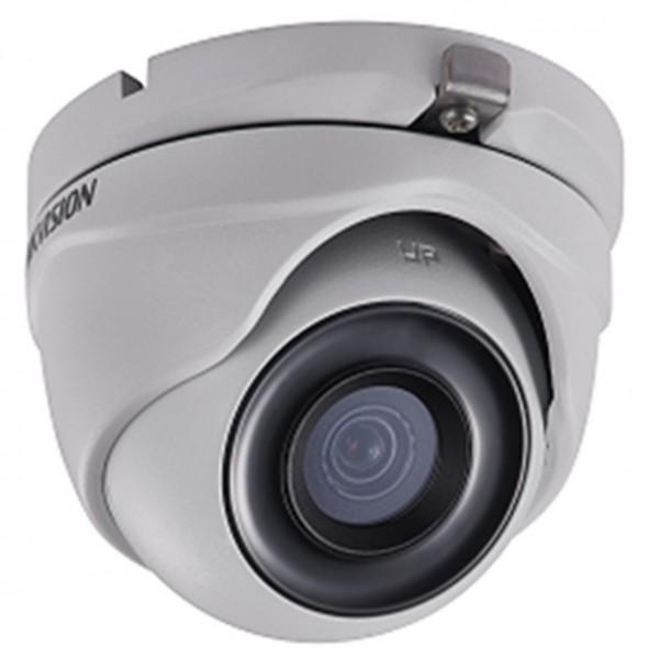 Camera HD TVI bán cầu 2MP Starlight hồng ngoại 30M cấp nguồn đồng trục